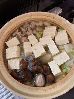 男子料理 2020-01-12 野菜をおいしく食べられる鍋