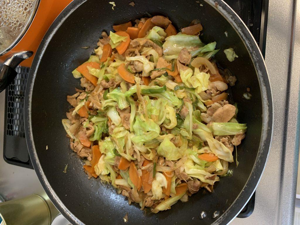 男子が簡単に作れる料理 野菜炒めを丁寧に作ってみました
