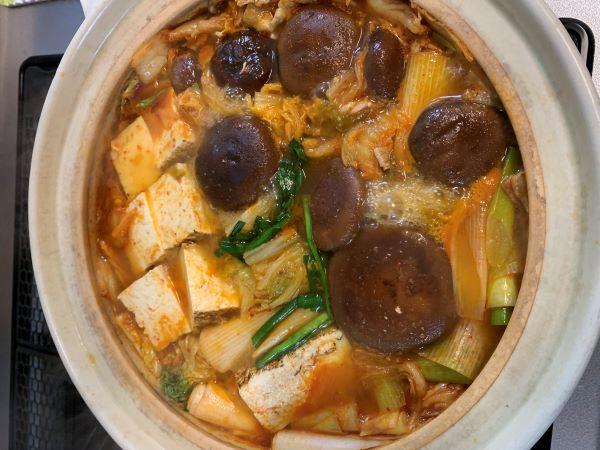 【男の料理】「キムチ鍋」で一家団欒